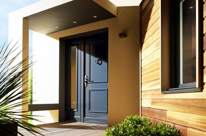 porte blind e de maison coffre cl s favre sa. Black Bedroom Furniture Sets. Home Design Ideas
